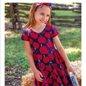 Eleanor Rose Annie Knit Apple Dress